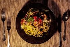 Pasta Spezialität aus der Steiermark Stangl Nudeln - Ihr Produzent aus Österreich für Teigwaren aus Dinkel, Nudeln aus Hartweizengries, Vollkornnudeln uvm Spaghetti mit Garnelen_35
