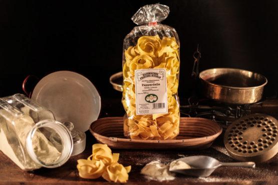 Hartweizen Pappardelle 500g Nudeln aus der Steiermark - Stangl Nudeln - Produzent fuer Teigwaren aus Oesterreich